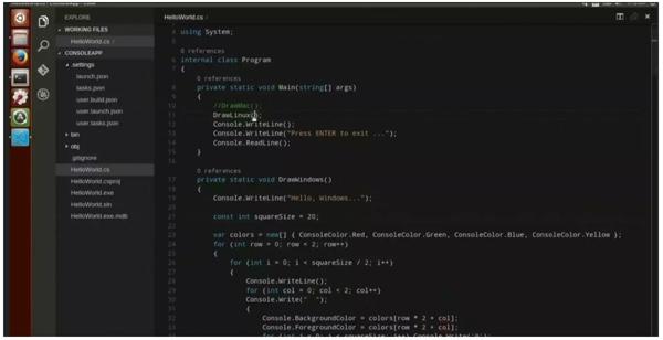 visual studio code linux-infoidevice