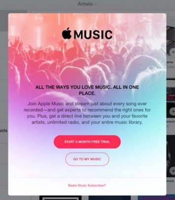 connexion apple music-infoidevice