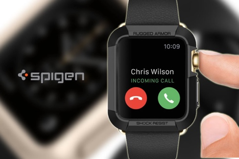 coque apple watch rugged armor spigen-infoidevice
