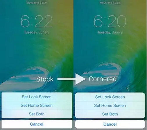tweak cydia cornered-infoidevice