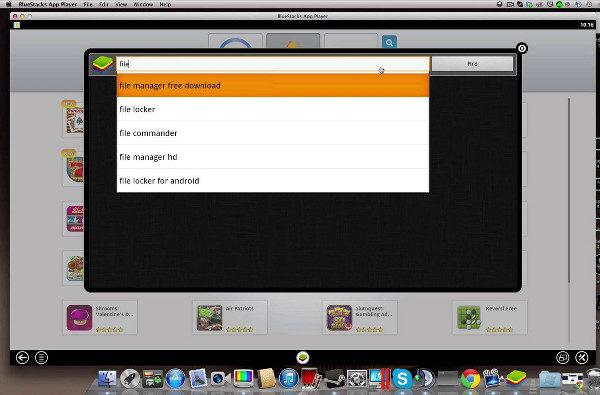 bluestacks emultauer android sur mac