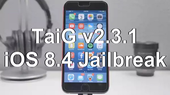 jailbreak iOS 8.4 avec taig 2.3.1