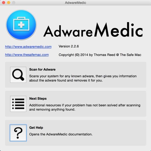options adwaremedic mac