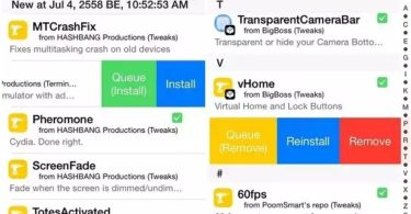 tweak swipeformore cydia