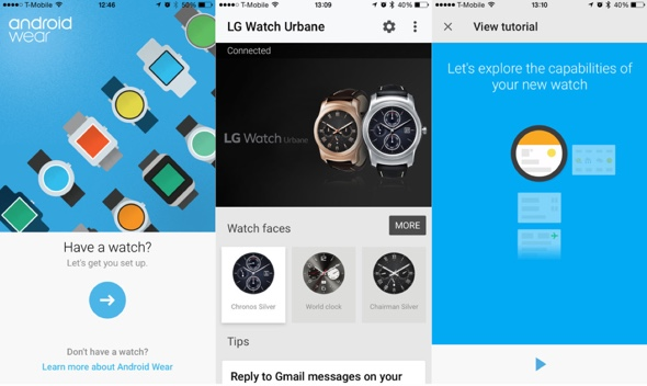 android wear ios-infoidevice