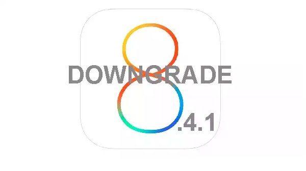 downgrade ios 8.4.1-infoidevice