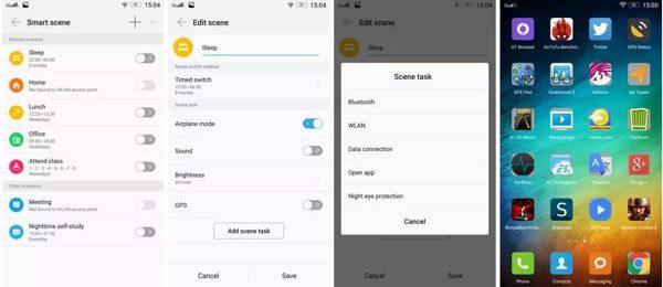 interface Vibe UI Lenovo K3 Note-infoidevice