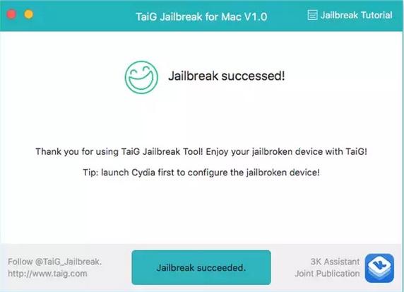 jailbreak ios 8.4 reussi sur mac-infoidevice