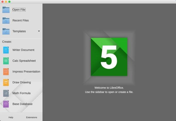 libreoffice 5 mac linux windows-infoidevice