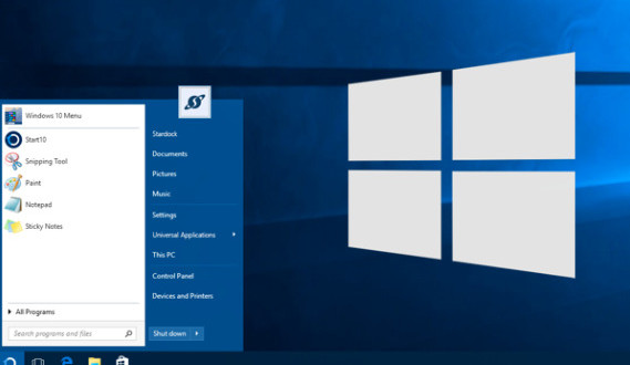 start10 startdock changer menu demarrer windows 10-infoidevice