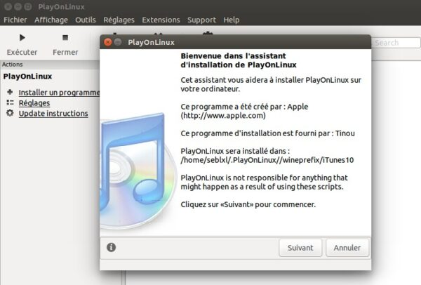 installe itunes sous linux ubuntu-infoidevice