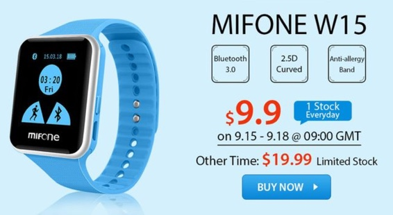 montre mifonew15 en promo-infoidevice