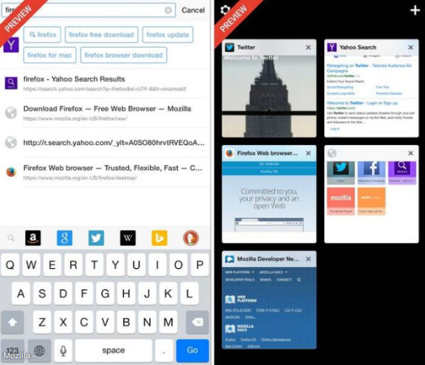 preview mozilla firefox pour iphone-infoidevice