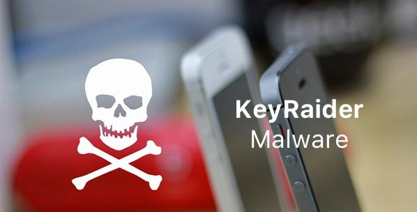 trouver et suprimer malware keyraider-infoidevice
