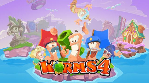 worms 4 team17-infoidevice