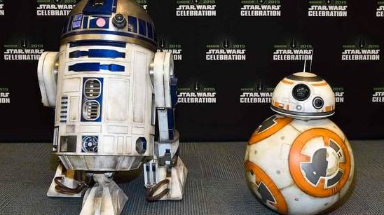 R2-D2 et BB-8 star wars-infoidevice