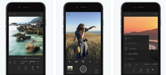 adobe lightroom gratuit pour iphone-infoidevice