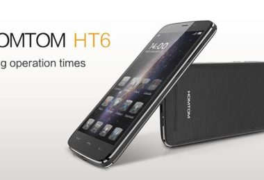 doogee homtom ht6 smartphone endurant-infoidevice