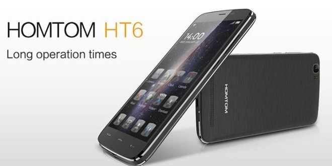 doogee homtom ht6 smartphone endurant-infoidevice