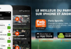 application paris sportis ios et android