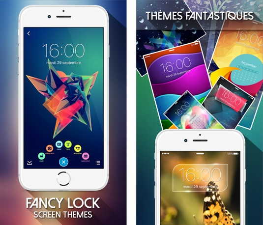 fancy lock screen theme-infoidevice