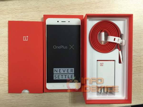 packaging oneplus x-infoidevice