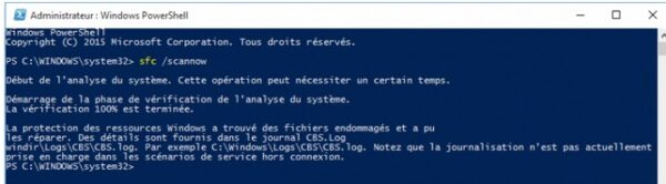 adminsitrateur windows powershell-infoidevice