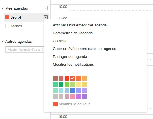 recuperer evenement agenda google-infoidevice