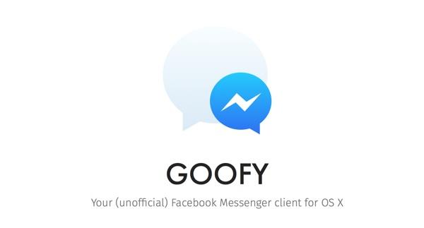 goofy facebook messenger pour mac-infoidevice