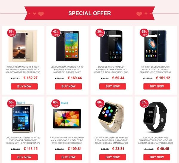 offres mobiles et smartwatch saint valentin 2016-infoidevice