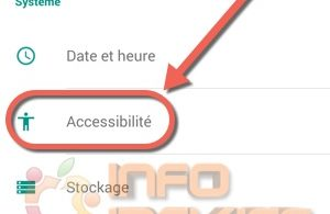 clickjacking accessibilite android-infoidevice
