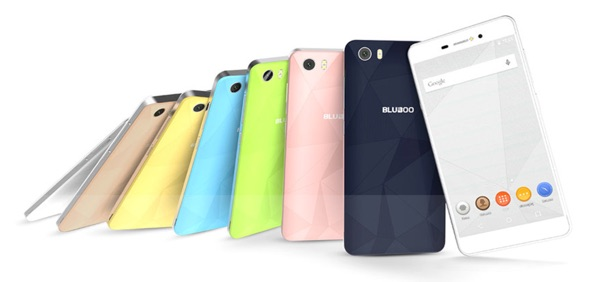 coloris smartphone bluboo picasso-infoidevice