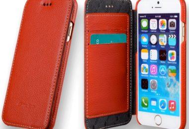 housse cuir melkco iphone 6-6s - infoidevice