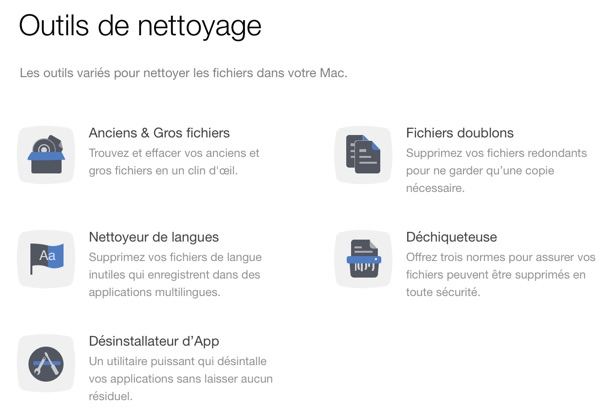 macclean 3 outils nettoyage mac-infoidevice