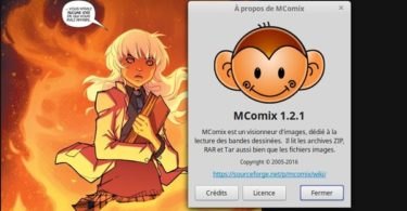 mcomix lecteur bd comic manga linux windows-infoidevice