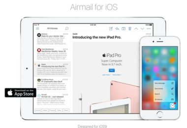 airmail pour ipad-infoidevice