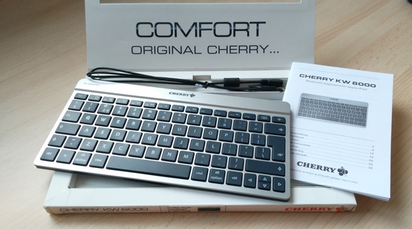 clavier bluetooth cherry kw 6000-infoidevice