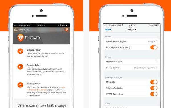 navigateur rapide brave browser-infoidevice