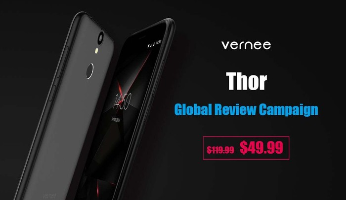 promotion vernee thor-infoidevice
