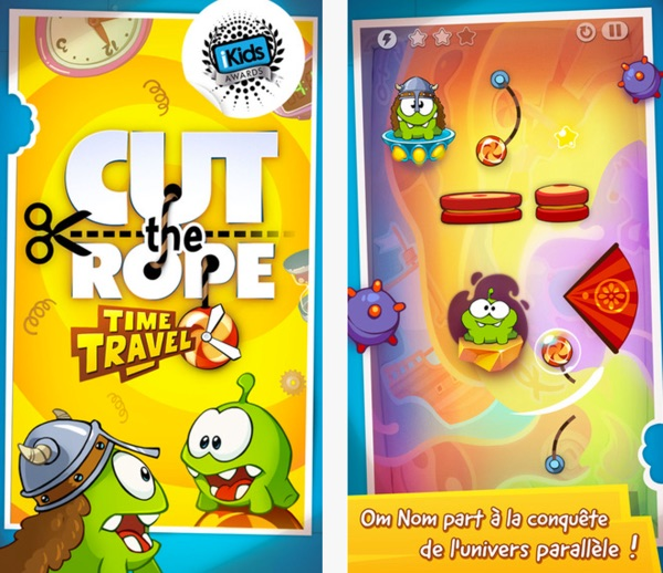 zeptolab cut the rope time travel-infoidevice