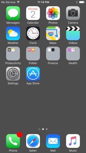 cacher dock iphone ios 9.3.1 sans jailbreak-infoidevice