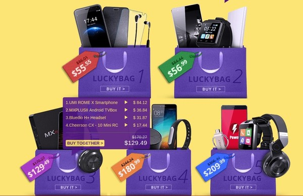 luckybag everbuying-infoidevice