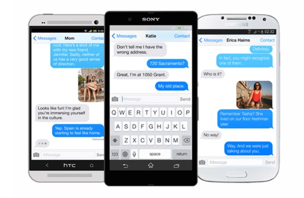 piemessage imessage android-infoidevice
