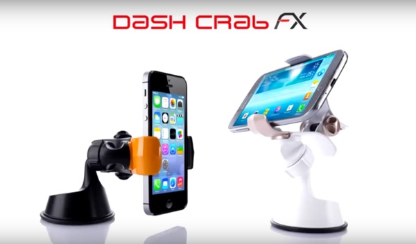 support universel pour mobile dash crab fx-infoidevice