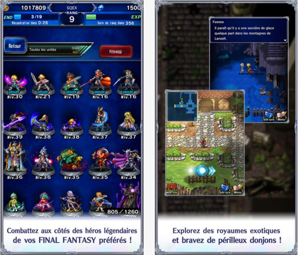 Final Fantasy Brave Exvius iOS Android-infoidevice