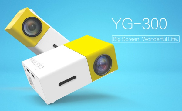 projecteur yg300 lcd-infoidevice
