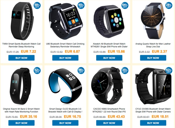 promotion smartwatch montres connectees-infoidevice