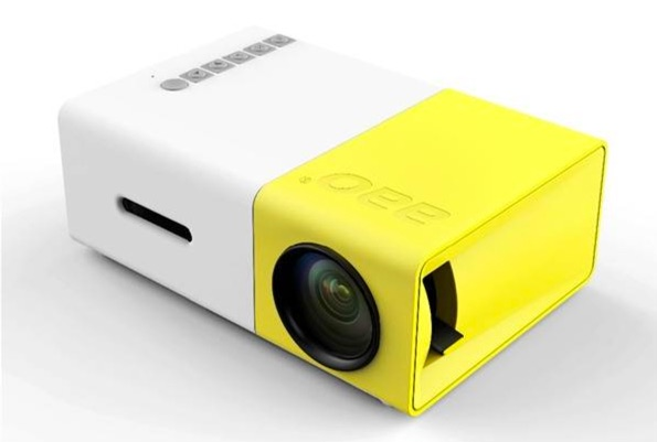 test mini projecteur yg 300-infoidevice