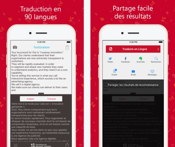 textgrabber numerisation et traduction gratuite-infoidevice