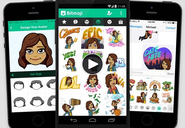 avatar bitmoji snapchat-infoidevice